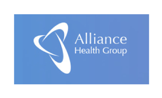 Alliance Health Group logo & website link