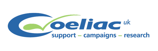 Coeliac UK support-campaigns-research logo & website link