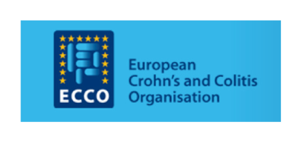 European Crohn's and Colitis Organisation logo & website link