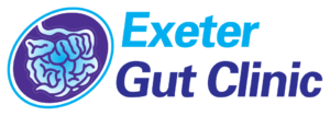 Exeter Gut Clinic Treatment of diseases of the gastrointestinal tract & liver website header & logo