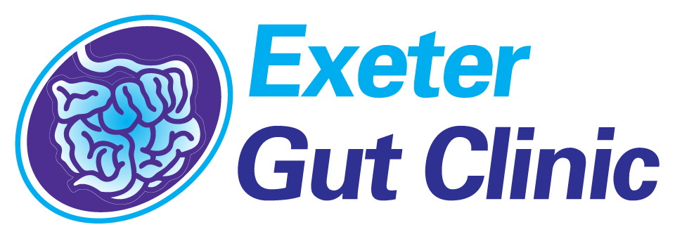 Exeter Gut Clinic Treatment of diseases of the gastrointestinal tract & liver website header