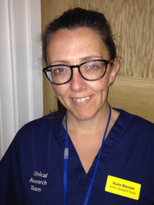 Suzie Marriott Senior Research Nurse Clinical Research Team Exeter Gut Clinic