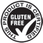 this product is gluten free certified logo