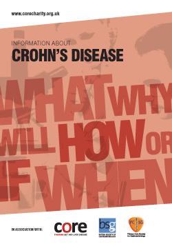 core information about Crohn's disease leaflet download as a pdf