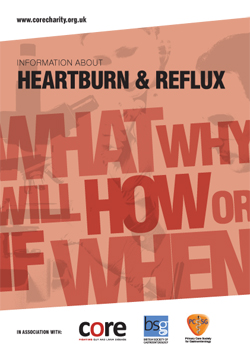 core information about heartburn & acid reflux leaflet download as a pdf