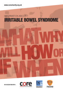 core information about irritable bowel syndrome IBS leaflet download as a pdf